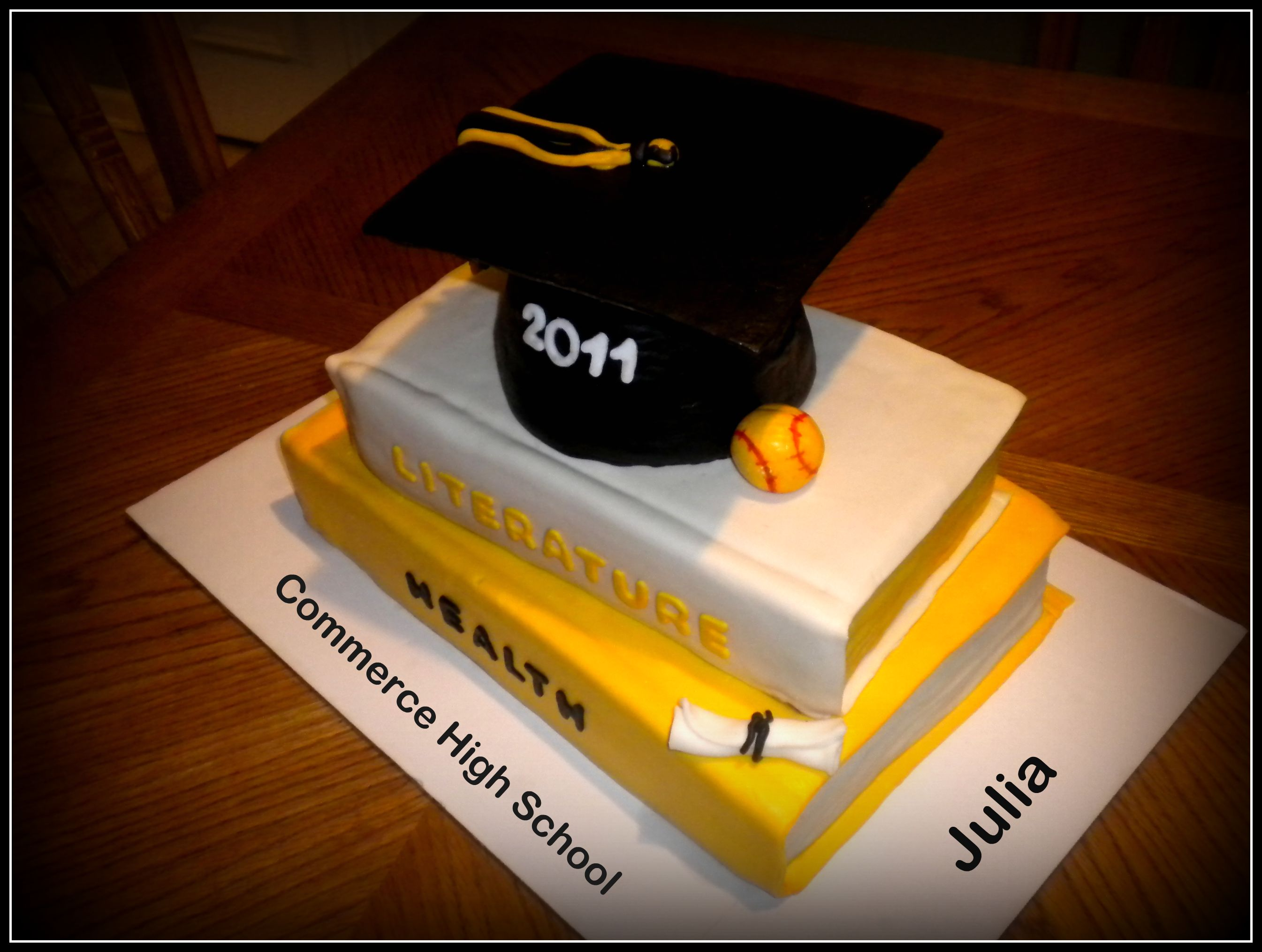 High School Graduation Cake YOUnique Cake Design